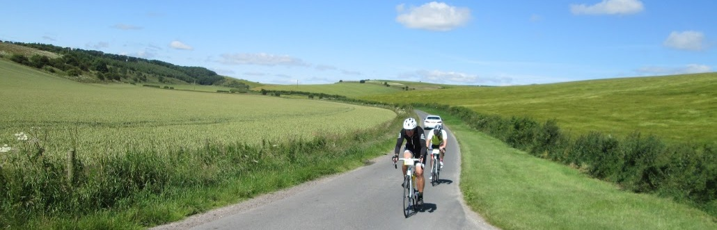 Cycling the quiet lanes of the Yorkshire Wolds