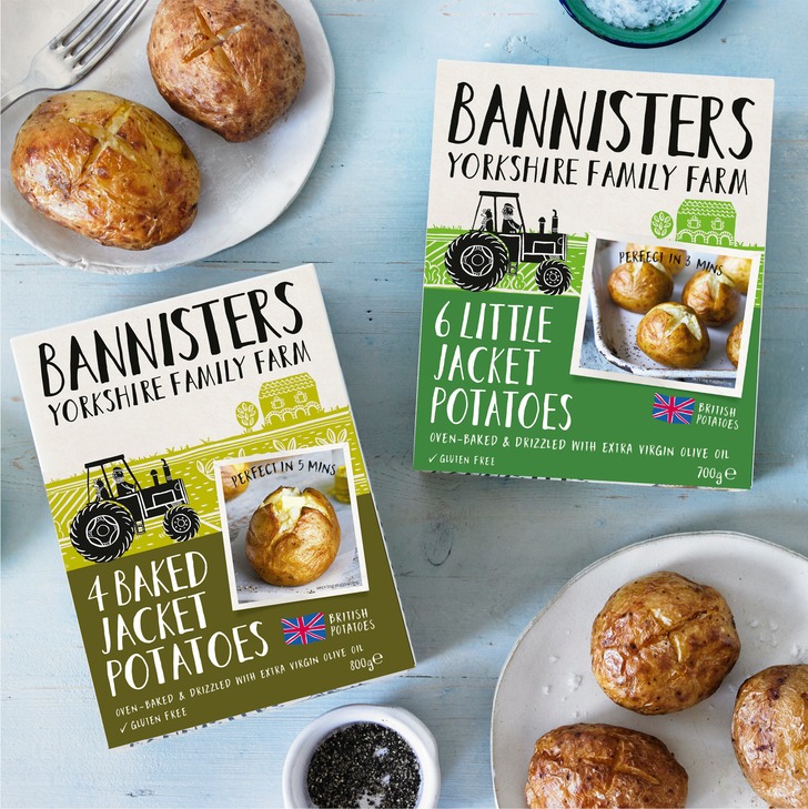 Bannister's Farm Jacket Potatoes