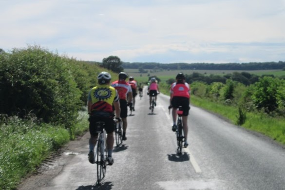 The quiet lanes of the Yorkshire Wolds Cycle Route