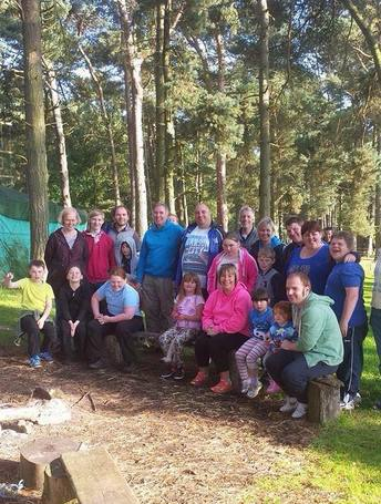 A group from Ryedale Special Families in Dalby Forest