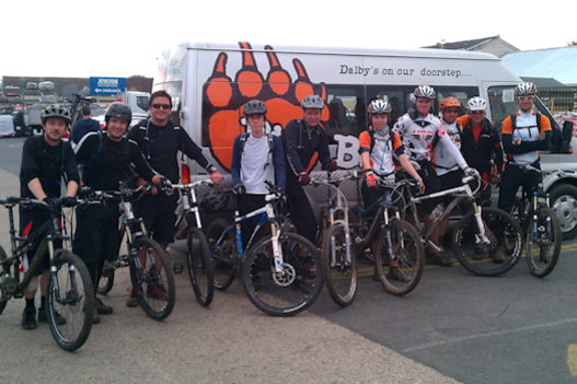 Team 'Big Bear Bikes'!