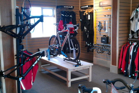 Big Bear Bikes showroom in Pickering